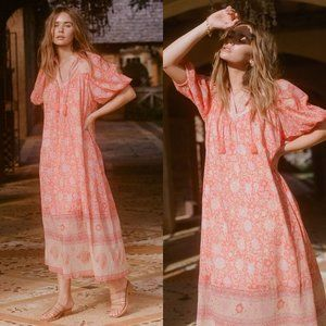 Spell & Gypsy Collective Love Story Boho Dress Red